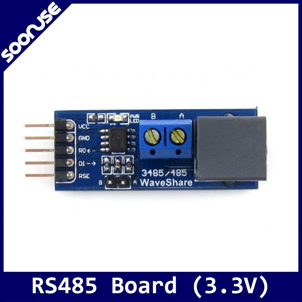 Placa de Módulo Transceptor Conversor Placa Desenvolvimento Avaliação Kit 3.3 v Rs485 Sp485 – Max485