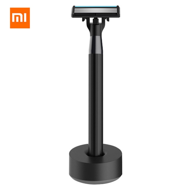 Afeitadora Original Xiaomi mi Home, afeitadora de barba, afeitadora Manual de lujo, afeitadora magnética reemplazable, cuchilla de afeitar para hombres y mujeres