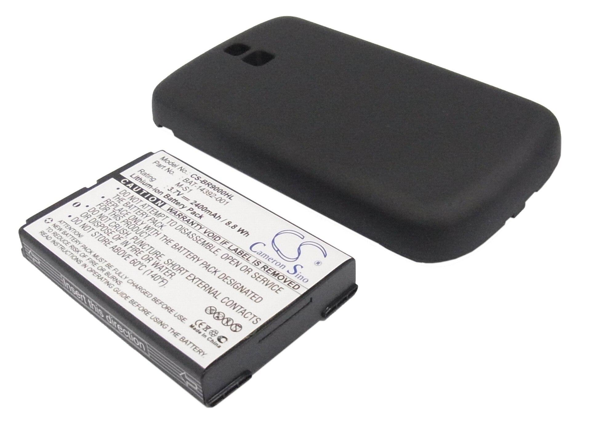 Cameron Sino 2400mah batería para BLACKBERRY Bold 9000 Niagara 9030 M-S1 bate-1439 AT&T audaz T-COM WS 0130
