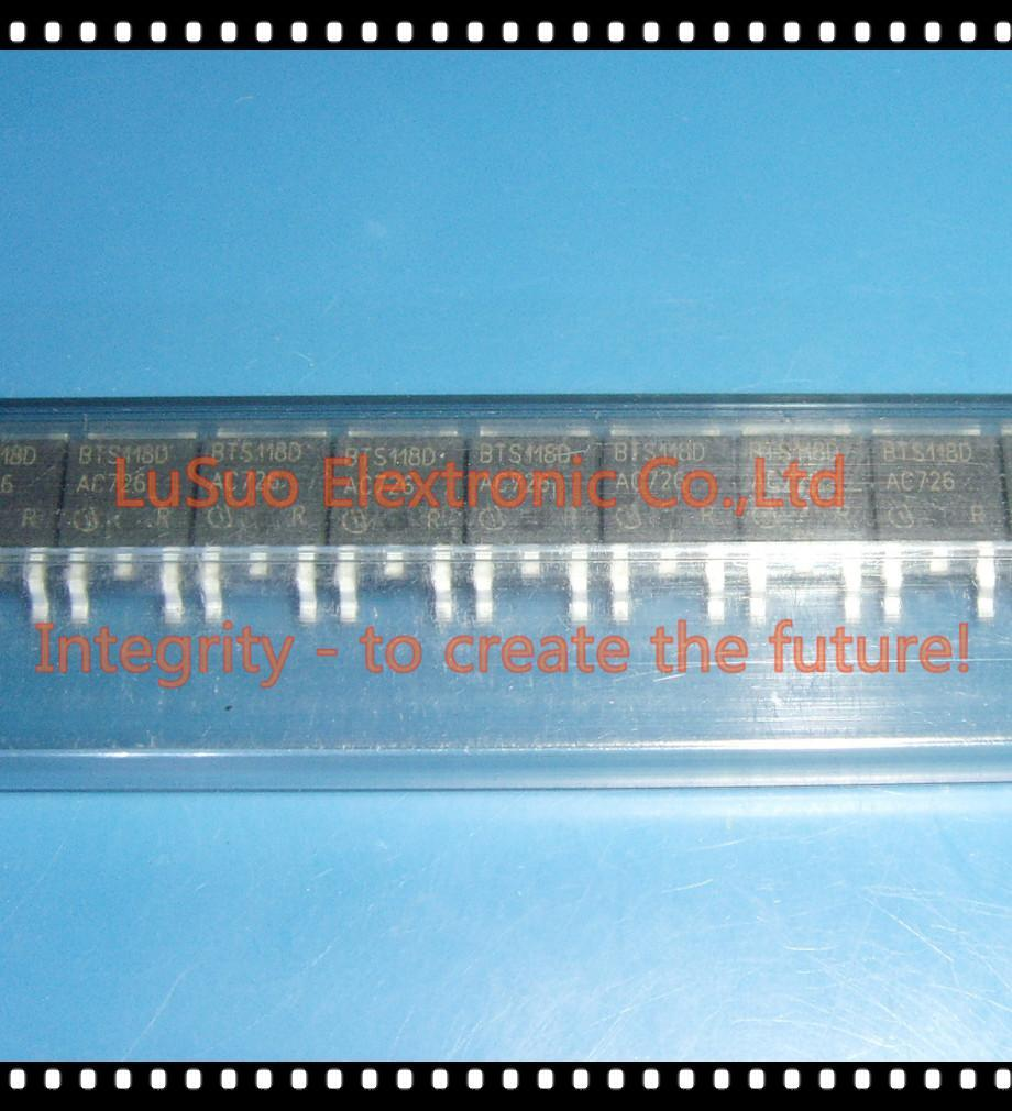 50 Uds., BTS118D BTS118, interruptor de Alimentación inteligente Lowside