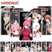 HAMEINUO japanese anime girl touch glass kawaii phone cover for LG G7 Q6 G6 MINI G5 K10 K4 K8 2017 2016 X POWER 2 V20 V30 2018