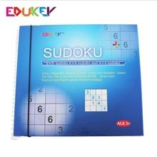 Zabawki dla dzieci 340 puzzle magnetyczne Sudoku oparte na łacińskiej kwadraty garnitur dla każdego grać razem najlepszą hobby prezent dla rodziny