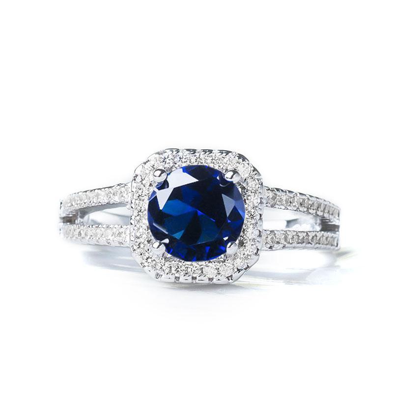MISANANRYNE Clear CZ Zirconia Fashion Jewelry Wedding Ring New Arrival Round Type Rings Size 5 6 7 8 9 10 11 12