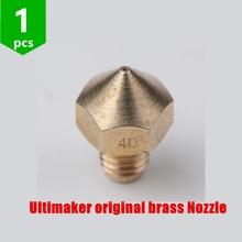 SWMAKER 1 pcs 3D imprimante pièces Ultimaker original en laiton buse 0.3mm 0.4mm 0.5mm pour fin chaude 1.75mm 3mm filament 3D imprimante bricolage