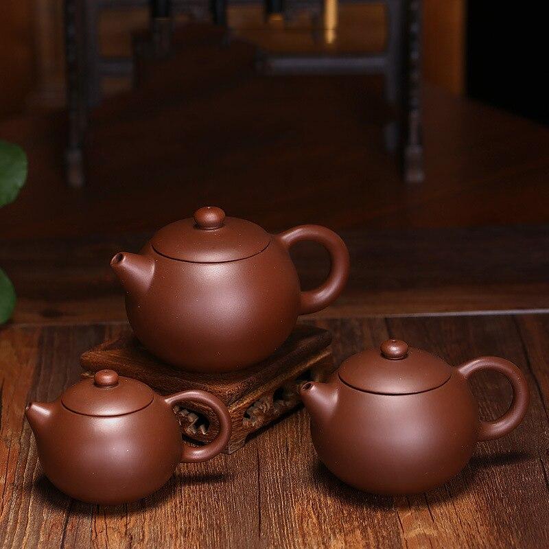 Hot Sale Clay Xishi Teapot Kung Fu Tea Set 290ml Sand High-grade Pot Handmade Ceramic Sets Porcelain Kettle Free Shipping