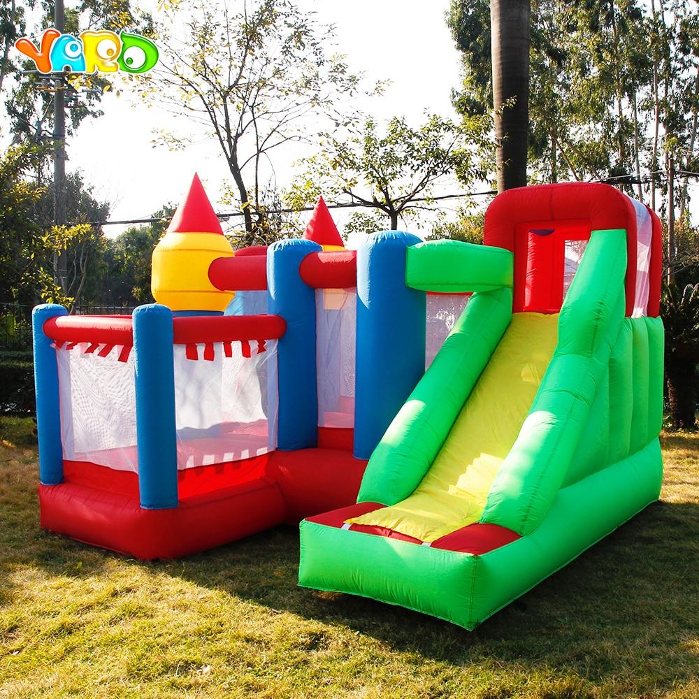 Patio inflable juegos Castillo salto casa Silde bola Pit Park Blower castillo inflable Barco por Express regalo de Navidad