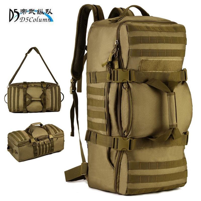 Bolsos de hombre a prueba de agua de 60 L mochila militar 3 P aircraft la mejor mochila multifunción para hombre Notebook viaje 17 pulgadas laptop Mujer