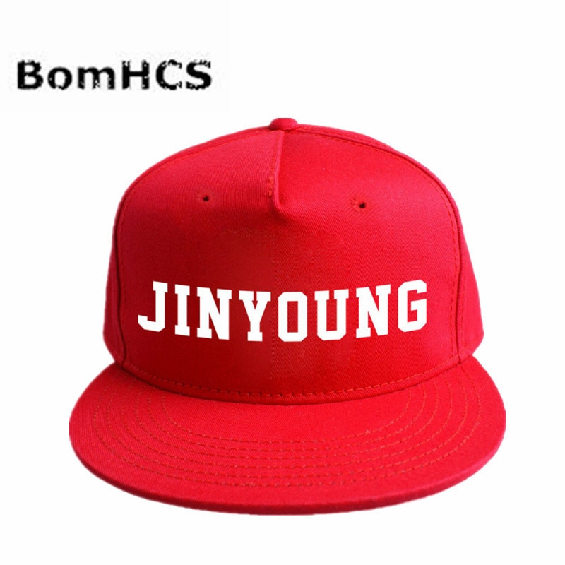 Бейсболка BomHCS Kpop GOT7 JIN YOUNG, Регулируемая Кепка в стиле хип-хоп