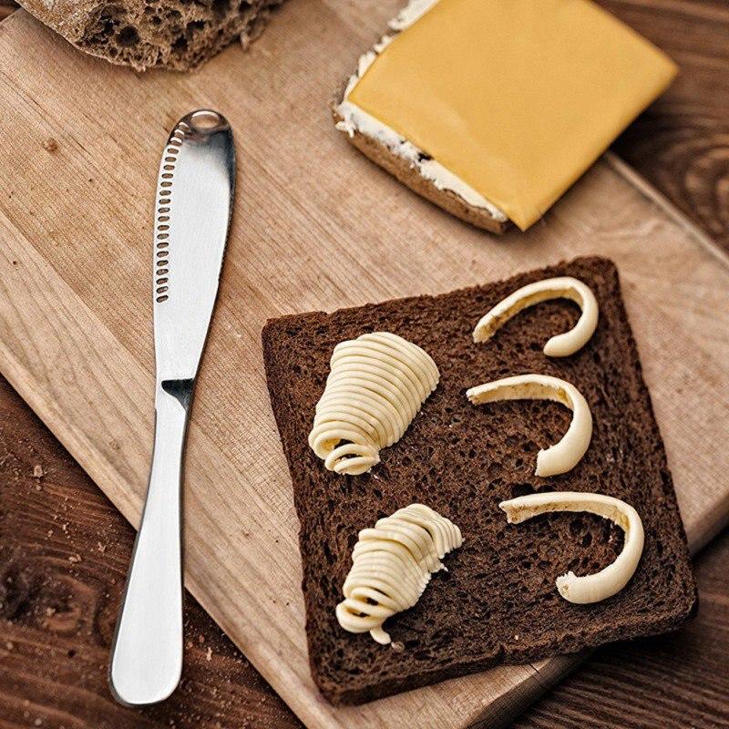 Stainless Steel Butter Knife Cheese Dessert Jam Spreaders Cream Knifes Utensil Cutlery Dessert Tools for Toast Breakfast Tool