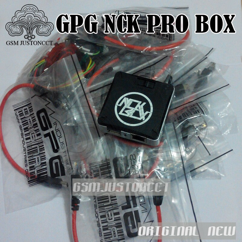 100% Original NCK Pro box 2 (support BOX + UMT in 1)For Huawei +16cables free shipping