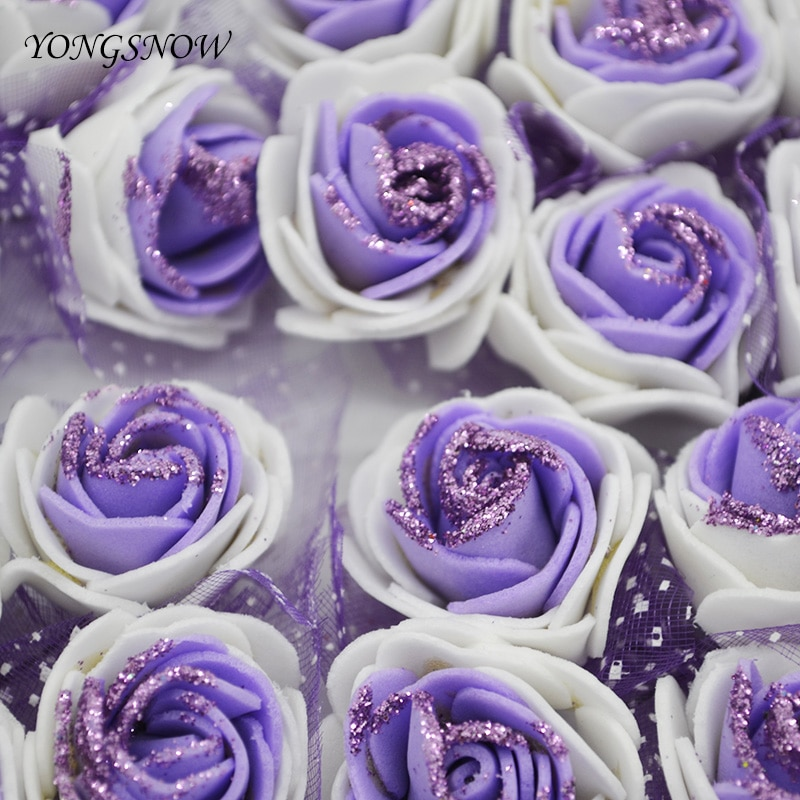 AliExpress - 36/72pcs Silk Rose Artificial Flower Artificial Flowers for Wedding Party Baby Shower Birthday Decor Handicrafts DIY Fake Roses