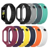 strap for samsung galaxy fit e r375 replacement band for galaxy fitness tracker soft silicone wristband accessories