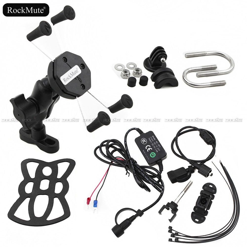 Cámara de acción deportiva/GPS/soporte de teléfono móvil para Honda CB600F/S CB900F HORNET CBF600 CB1300SF/S 22mm/28mm soporte de montaje de manillar