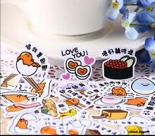 40 Uds. Huevo creativo kawaii autofabricado en Taiwán pegatinas bonitas/pegatina decorativa/álbumes de fotos artesanales DIY