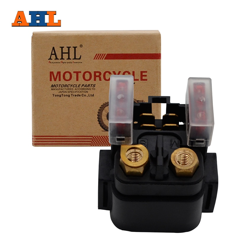 AHL Motorcycle GE Parts Starter Solenoid Relay ignition Key Switch For Yamaha YFZ450 YFZ 450 2004-20