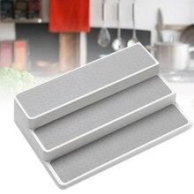 Étagère de rangement à épices antidérapante   3 niveaux facile à installer et nettoyer étagère de rangement pour la cuisine
