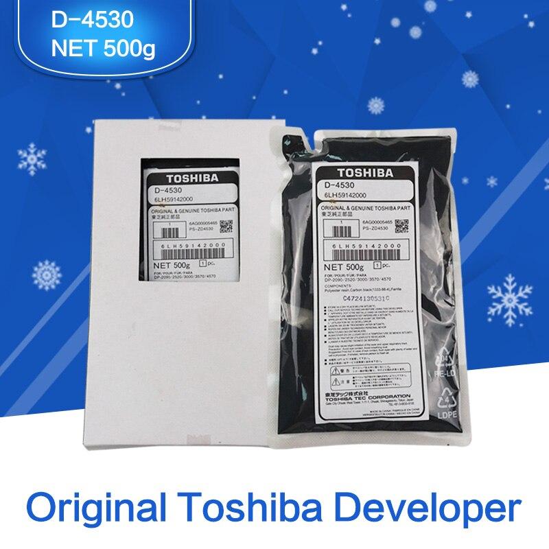 Desarrollador Toshiba Original, Desarrollador de piezas de máquina copiadora D-4530 6LH59142000 para Toshiba Model DP-2090/2520/3000/3570/4570