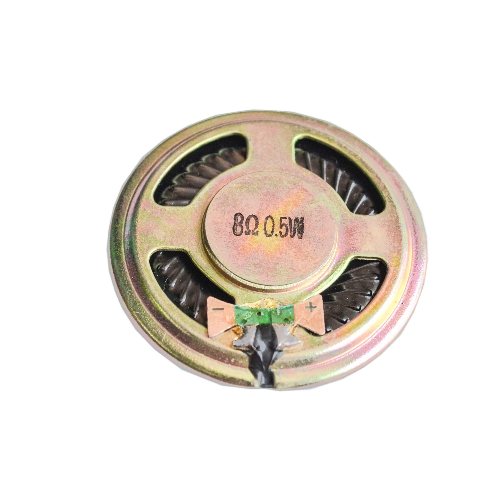 2 unids/lote nuevo 8 ohm 0,5 W altavoz de cuerno 40MM 4CM diámetro 8R 0,5 W pequeño altavoz electrónico al por mayor