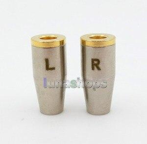 LN005940 Female MMCX Port Socket Earphone Pins Plug with Shell For DIY Earphone Converter