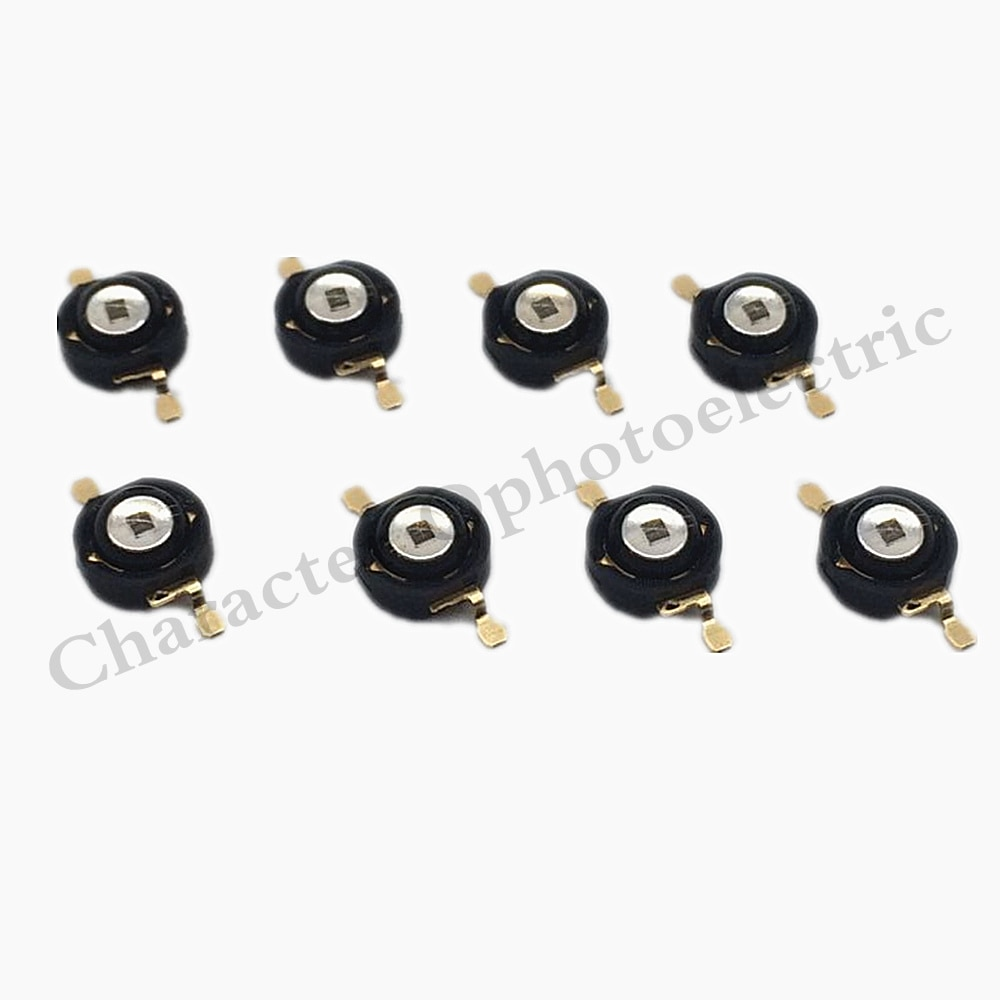 10pcs Infrared Red Light 850nm 3W Black Copper Bracket High Power LED Chip Infrared 850nm Night Vision LED Beads high power led chip 850nm 940nm ir infrared 3w 5w 10w 20w 50w 100w emitter light bead cob 850nm 940 nm night vision cctv camera