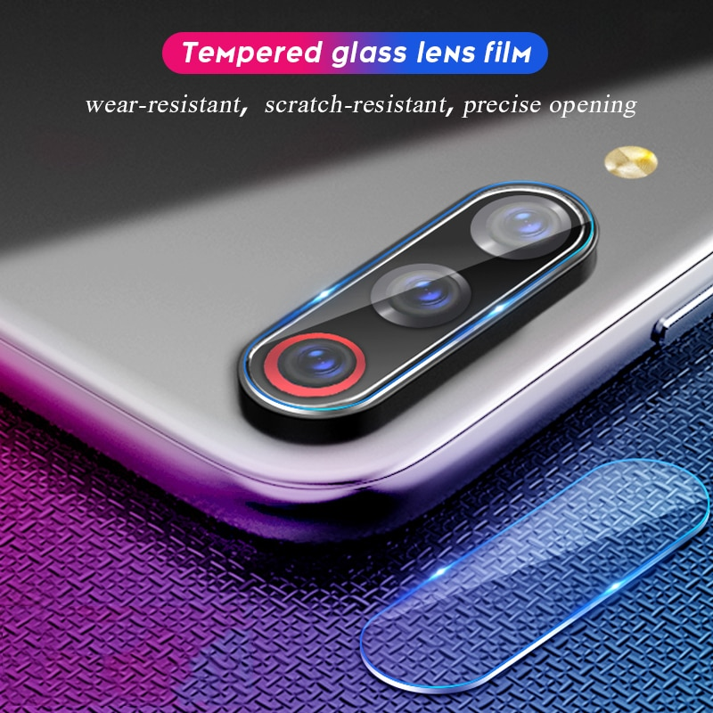 Lente de la cámara de película de vidrio templado para Xiaomi mi CC9 CC9e mi 9t Pro 9 SE protector de pantalla suave para Xiaomi mi 9 mi cc9 película ultra delgada