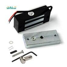 Serrure à tiroir électronique de 12V   Serrures de porte darmoire magnétiques électriques 60kg 100 livres à Force électromagnétique
