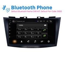 Seicane-lecteur Radio voiture 9 pouces   Android 8.1, Navigation GPS pour SUZUKI SWIFT 2011 2012 2013, support du lecteur Radio stéréo OBD2 DVR caméra arrière