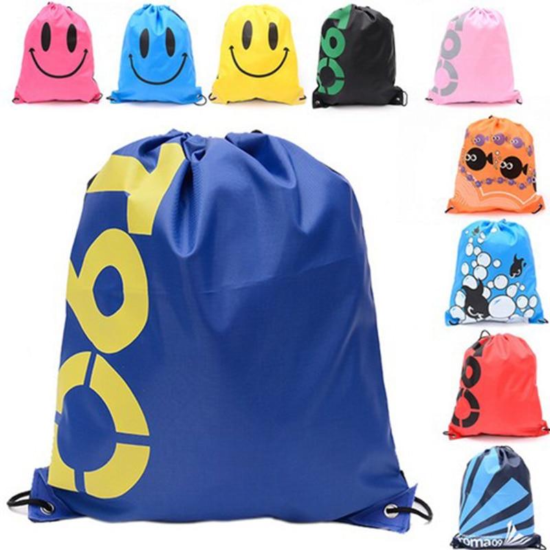 1 шт. водонепроницаемый рюкзак со шнурком, органайзер для путешествий, сумка для хранения одежды, обувь для детей