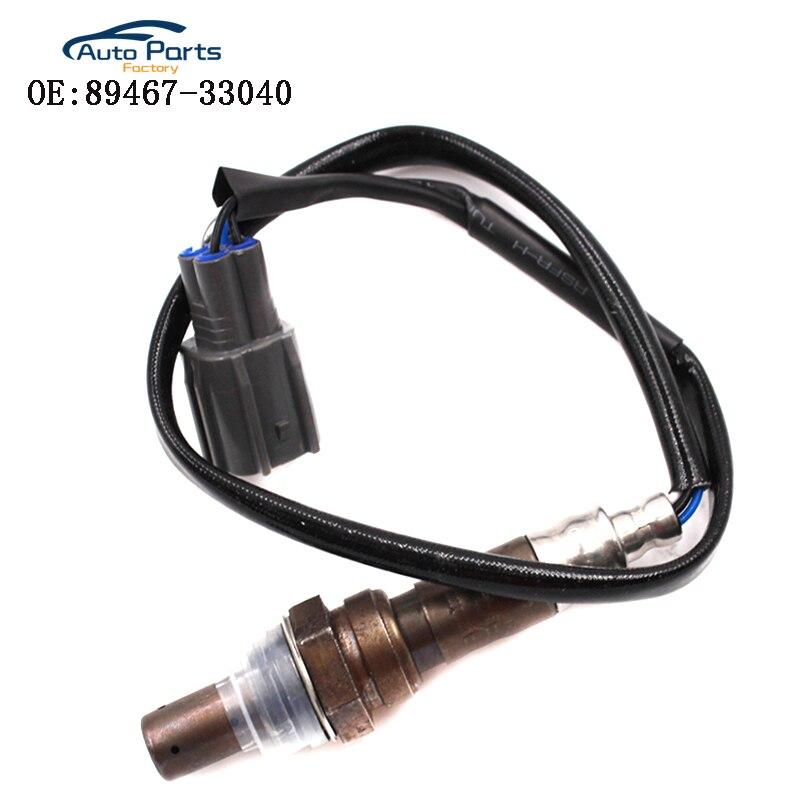 Sensor de oxígeno para Subaru Outback H6 2001-2004 3.0L Camry 2000-2003 2.4L Solara 2.2L frente 250- 54002, 89467-33040, 8946733040