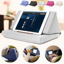 Multi-função de Almofada Laptop Lapdesk Tablet Estande Titular Colorido Travesseiro Poliéster Cutton de Leitura PC Suporte Travesseiro para ipad
