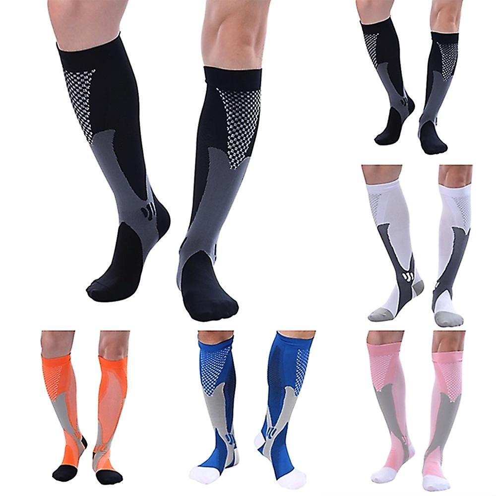 2019 nuevos hombres las mujeres calcetines de ciclismo Coolmax transpirable de baloncesto fútbol Calcetines