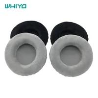whiyo 1 pair of velvet ear pads cushion cover earpads replacement for skullcandy hesh 2 0 hesh 2 headphones