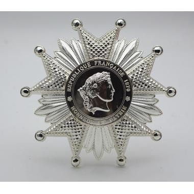 EMD французский Легион Honor груди звезда в Silver1