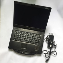 2020 p-anasonic CF52 4GB mémoire ordinateur portable CF-52 CPU i5/m540 livre dur avec lecteur DHL gratuit pas de HDD militaire prix usine pour alldata