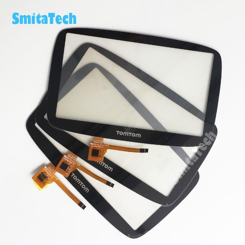 3 pçs/lote Novo 5.0 polegada Tela Sensível Ao Toque para TomTom GO 500 GO 5000 Touch Screen Digitador de Vidro Repair substituição de Sensores