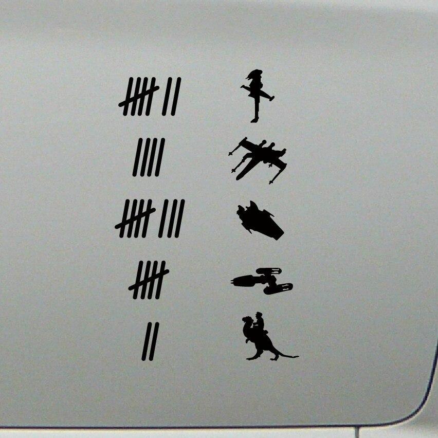 Adhesivos para moto dibujos animados impermeable pegatina de parachoques Drop Shipping
