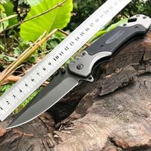 Couteau pliant multifonction, couteaux de survie tactique couteau de chasse lame de Camping couteau de poche de survie militaire de haute dureté