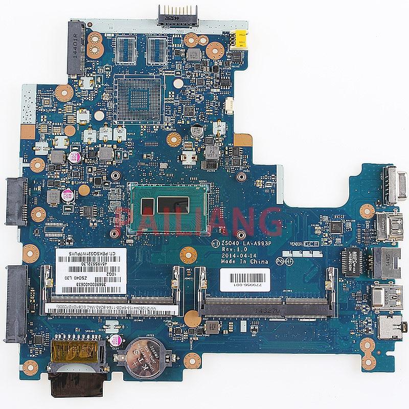 PAILIANG placa base para portátil HP 14-R 240 G3 246 G3 I3-4030U PC placa base 779956-001 779956-501 ZSO40 LA-A993P tesed DDR3