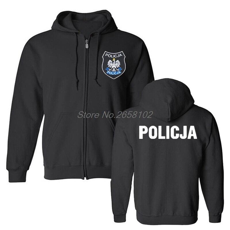 Sudadera con capucha de policía polaca de Polonia a la moda BOA Anti terrorista de Pirotechnik, sudadera para hombre, abrigo Harajuku