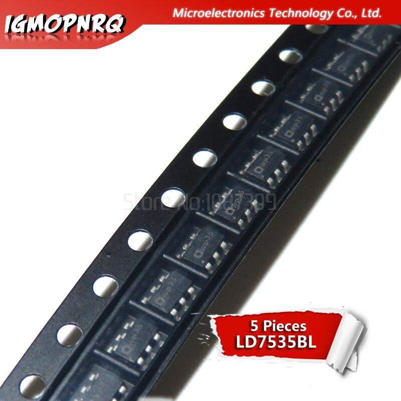 5 piezas LD7535BL SOT23-6 LD7535B SOT LD7535 SOT23 LCD SMD productos calientes