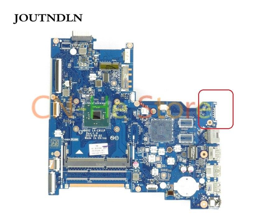 JOUTNDLN PARA HP 15-AC Series Laptop Motherboard 815249-501 ABQ52 LA-C811P DDR3 Gráficos Integrados W/N3700 CPU