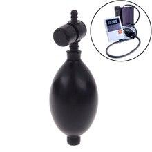 Monitor de Salud de goma de repuesto bombilla de estetoscopio bombilla de inflación de presión arterial del hogar con accesorios de válvula de expulsión de aire