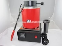 2kg capacity gold electric melting furnaces with 1pc graphite crucible pliersmelting furnace