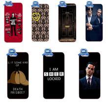 Classic Old Sherlock Holmes 221b Door For Apple iPhone 4 4S 5 5C 5S SE 6 6S 7 8 Plus X For LG G3 G4 G5 G6 K4 K7 K8 K10 V10 V20