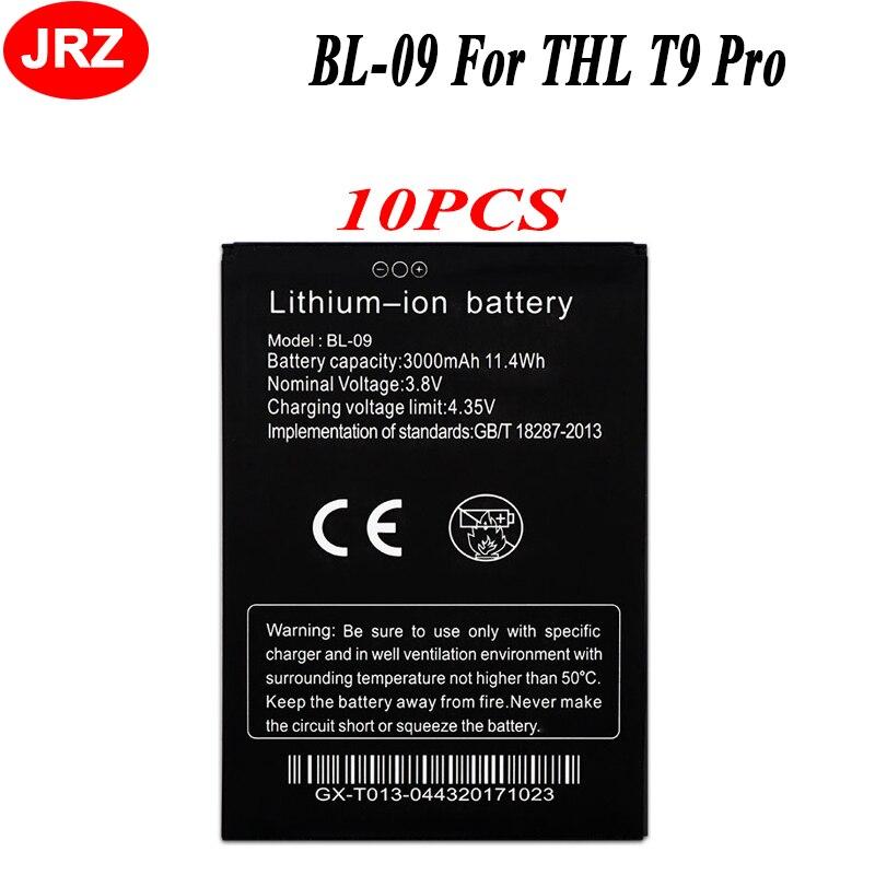 10PCS/LOT BL-09 For THL T9 Battery for THL T9 Pro High Quality 3000mAh