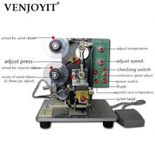 Ruban de presse manuel, code à jet dencre automatique, machine de production, date de production, ruban de presse manuel avec machine à code de métal chaud direct