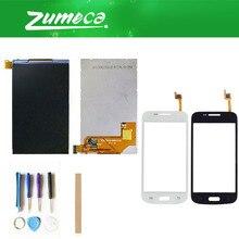 Alta calidad para Samsung Galaxy Core Plus SM-G350 G3502 G3500 G350 pantalla LCD + digitalizador de pantalla táctil con cinta y herramienta