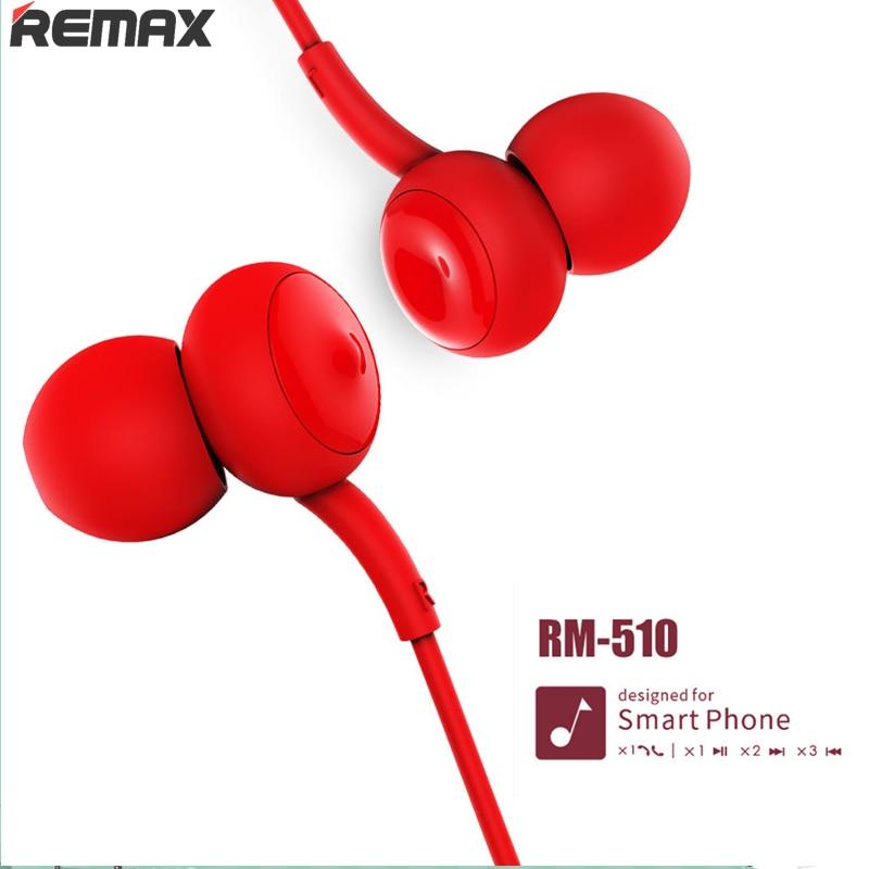 Самая низкая цена Remax 510, наушники, сенсорная музыка, проводная гарнитура, шумоподавление, наушники для iPhone, Xiaomi, мобильного телефона