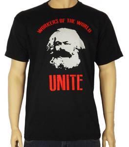 KARL MARX WORKERS T-SHIRT - Marxist Communist Socialist Che Guevara