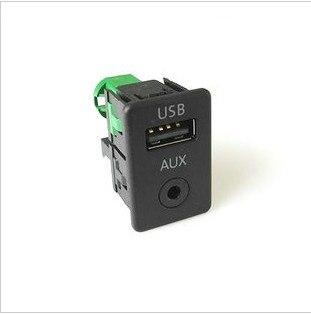 Новый OEM 2 в 1 USB AUX переключатель для RCD510 RNS510 RNS315 RCD500 RNS300 RCD300 RCD200 GOLF MK6 JETTA MK5 Sagitar Vento usb